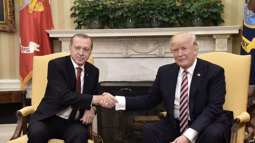 أردوغان وترمب يؤكدان هاتفياً على تنفيذ خارطة طريق منبج