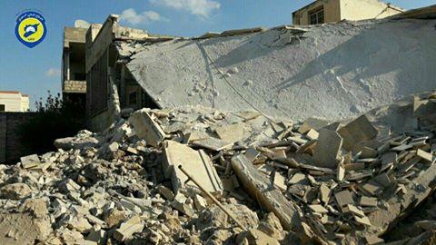 57 قتيلاً -تقبلهم الله في الشهداء- حصيلة ضحايا القصف الروسي الأسدي يوم أمس