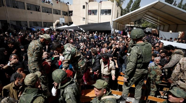 قوات النظام تشن حملة تجنيد في الغوطة الشرقية بريف دمشق
