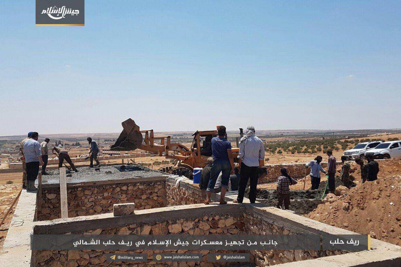 نشرة أخبار السبت- جيش الإسلام يبني خمسة مقرات عسكرية شمالي حلب، ونظام الأسد ينبش قبور ضحايا الكيماوي في الغوطة -(18-8-2018)