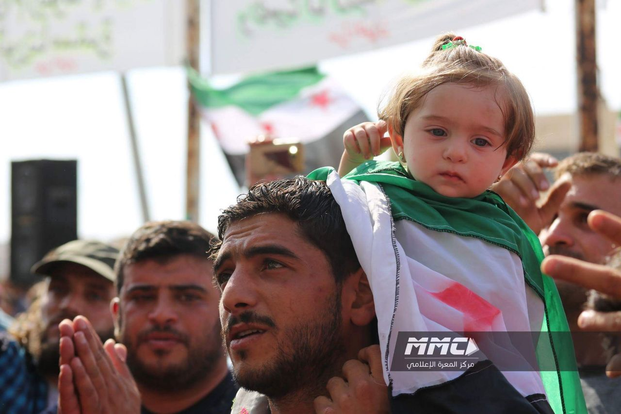 الشمال السوري يشهد العديد من المظاهرات تأكيداً على ثوابت الثورة