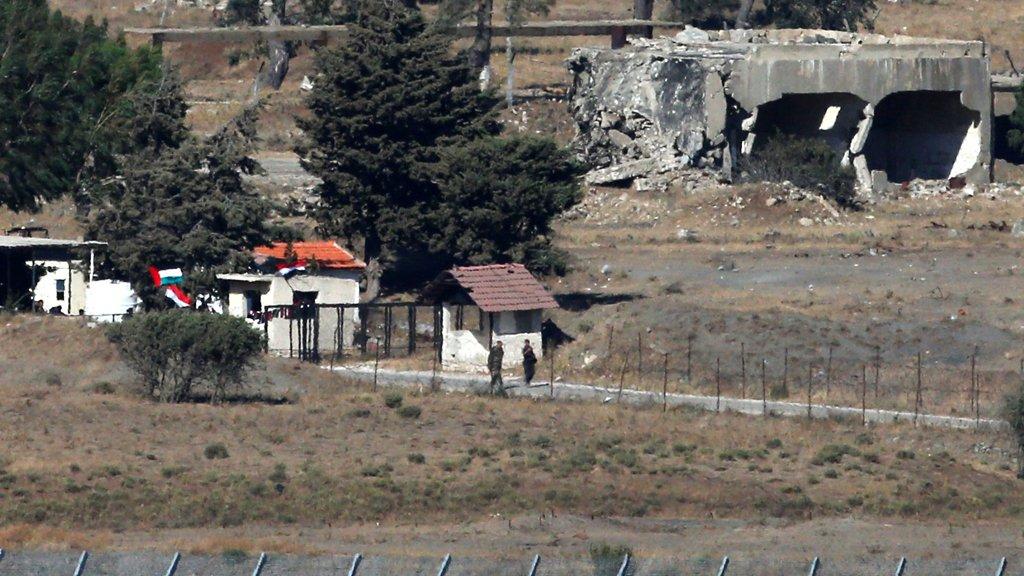 أمريكا ترحب بفتح المعبر بين نظام الأسد والكيان الإسرائيلي