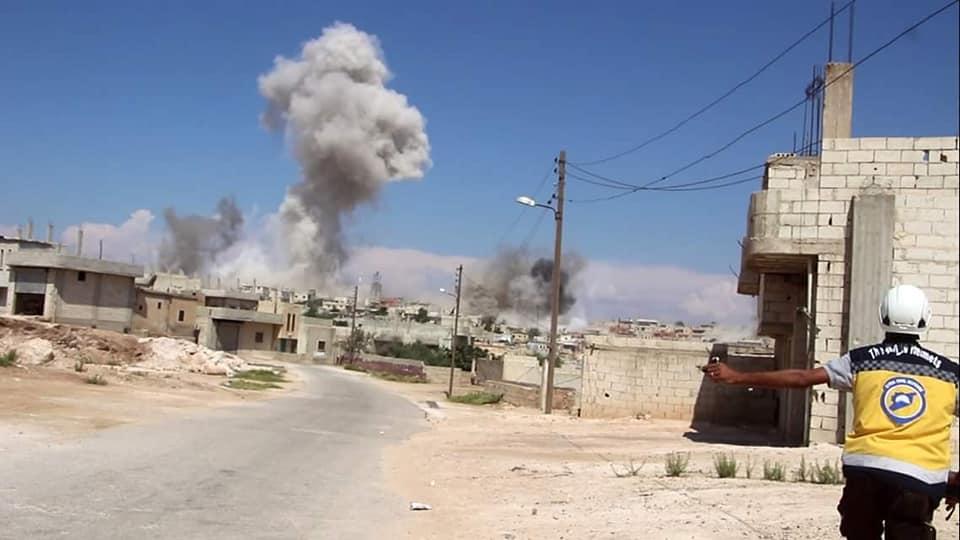 قوات الأسد تخرق الاتفاق وترتكب مجزرة في ريف إدلب