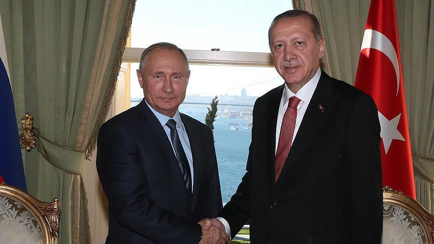 بوتين يشيد بتعاون تركيا في الملف السوري