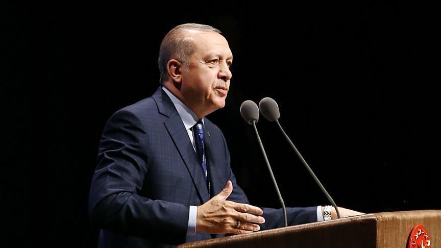 أردوغان يتعهد بطرد الميلشيات الانفصالية من مناطق شرق الفرات
