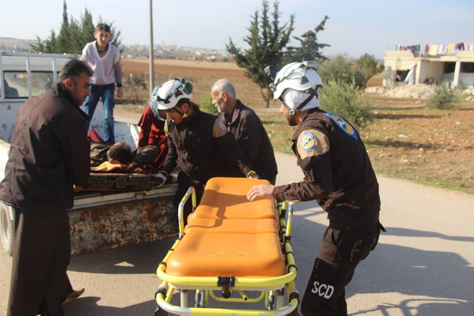 قوات النظام تقصف المنطقة العازلة في إدلب