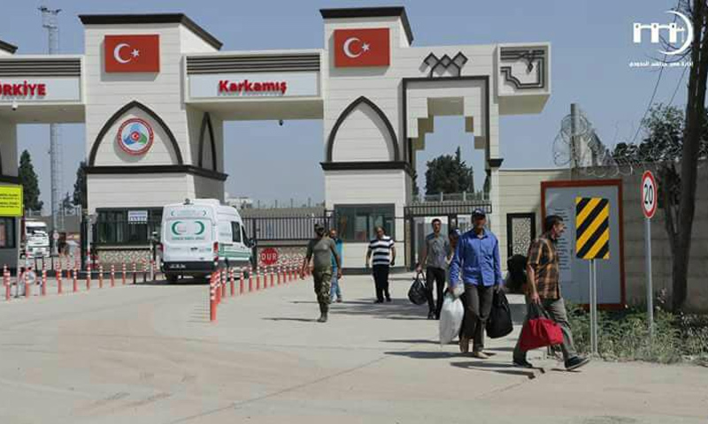 معبر جرابلس يحدد أيام دخول المجنّسين إلى سوريا