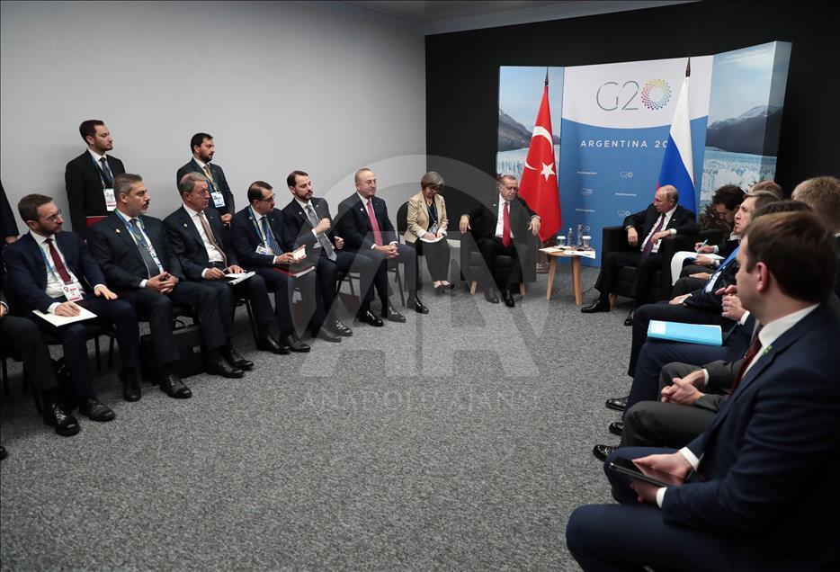 أردوغان لبوتين: هناك خطوات مختلفة يجب أن نتخذها في سوريا