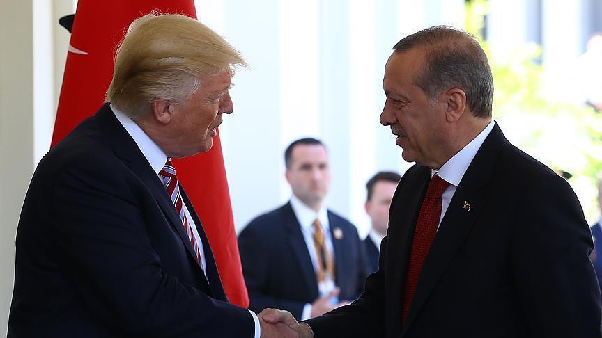 أردوغان وترامب يتفقان على ضمان