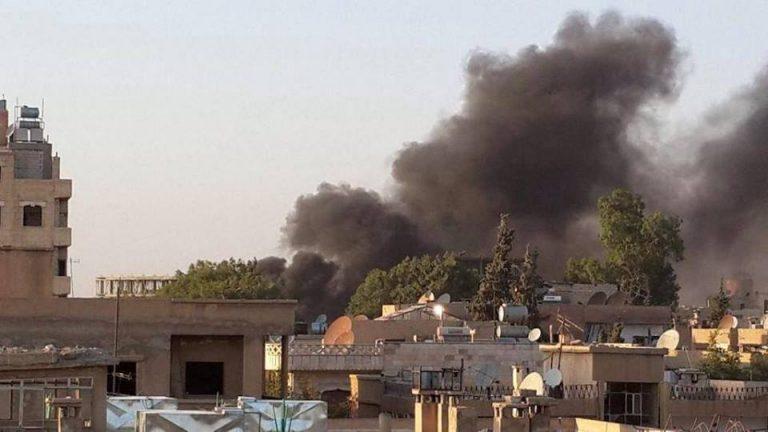مقتل طفلة في قصف بطائرة مسيرة على مدينة اللطامنة