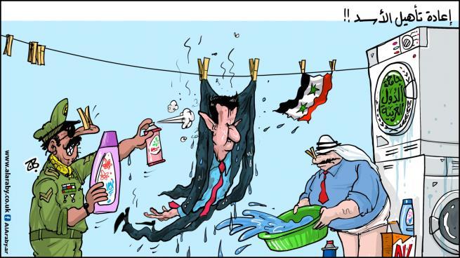 تهافت التطبيع مع النظام السوري