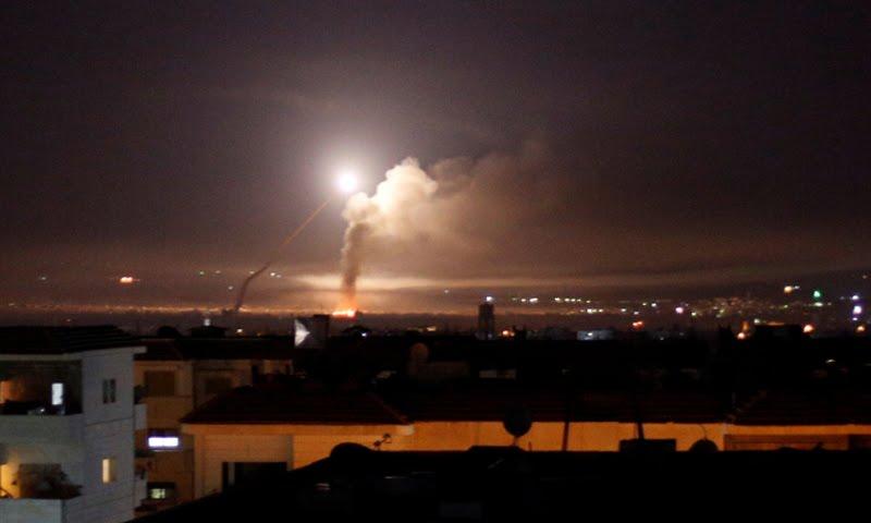 ما الذي استهدفه القصف الإسرائيلي في دمشق؟