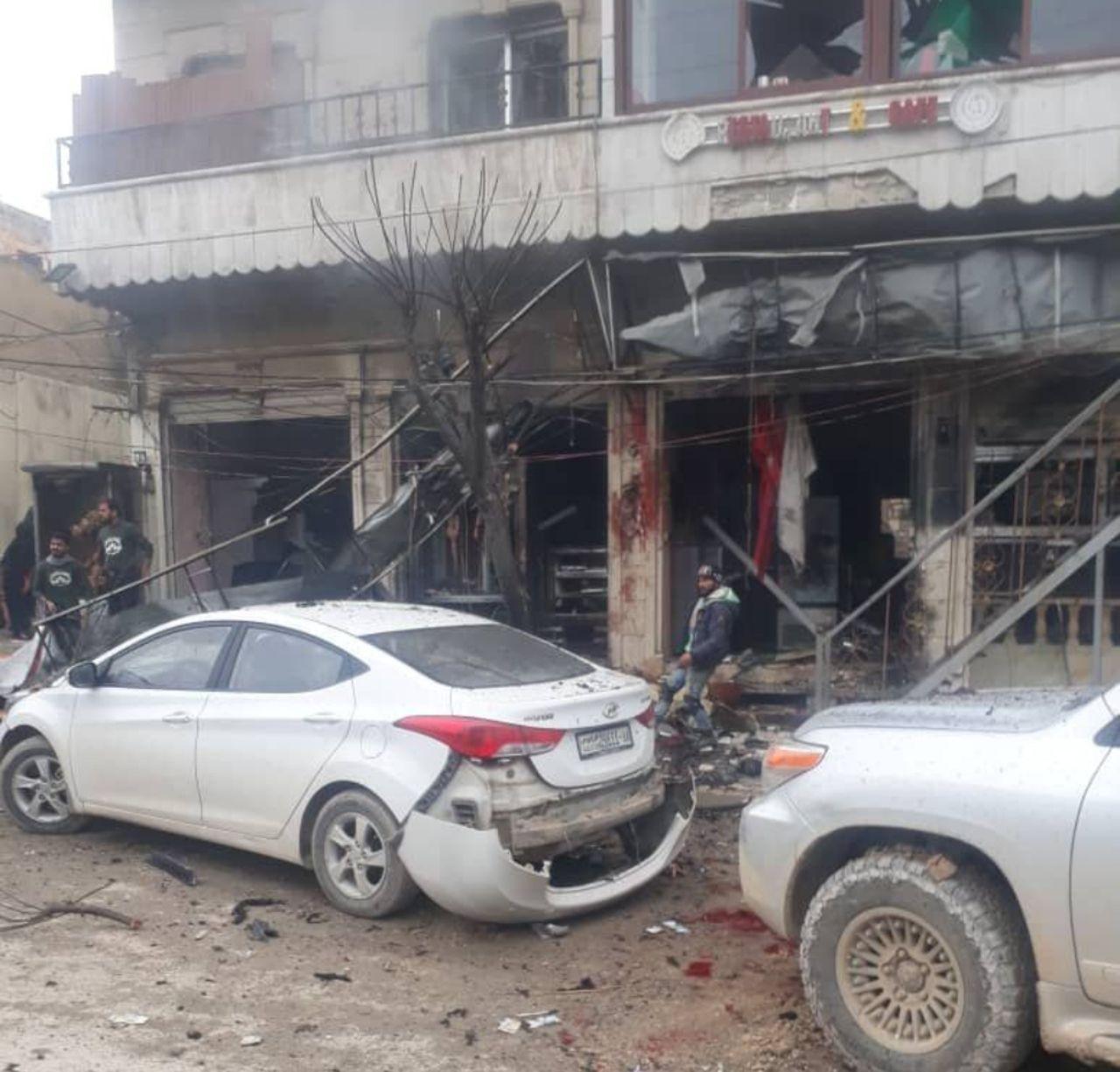 مصرع وإصابة جنود أمريكيين في انفجار منبج