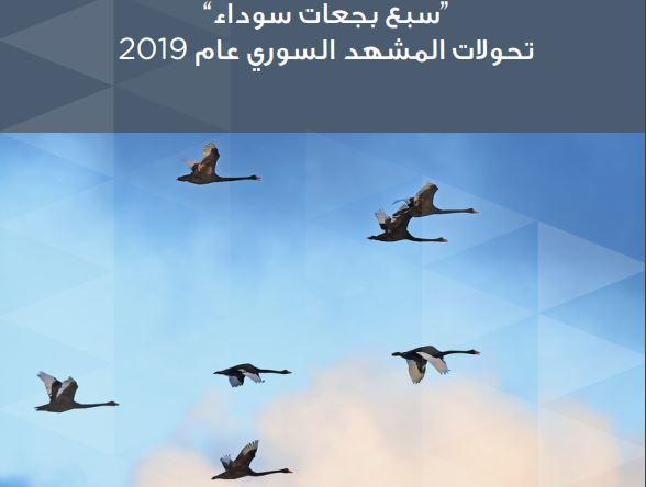 """""""سبع بجعات سوداء"""" تحولات المشهد السوري عام 2019"""