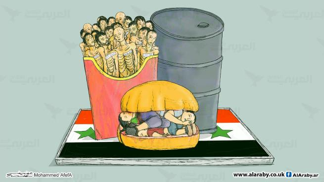 جمهورية الأسد.. برد وعتم وجوع