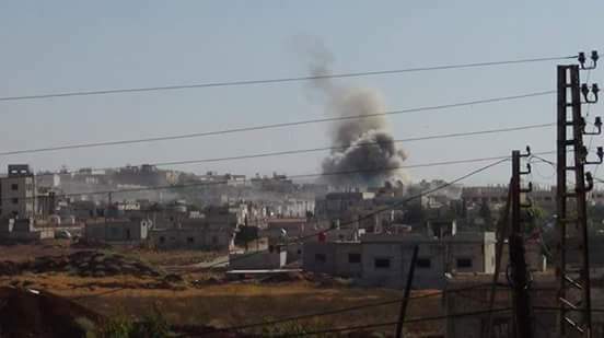 ضحايا مدنيون جراء قصف مدفعي على مدينة