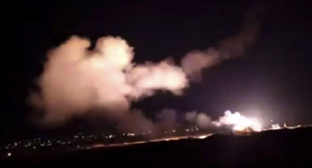 تفاصيل الهجوم الإسرائيلي على دمشق