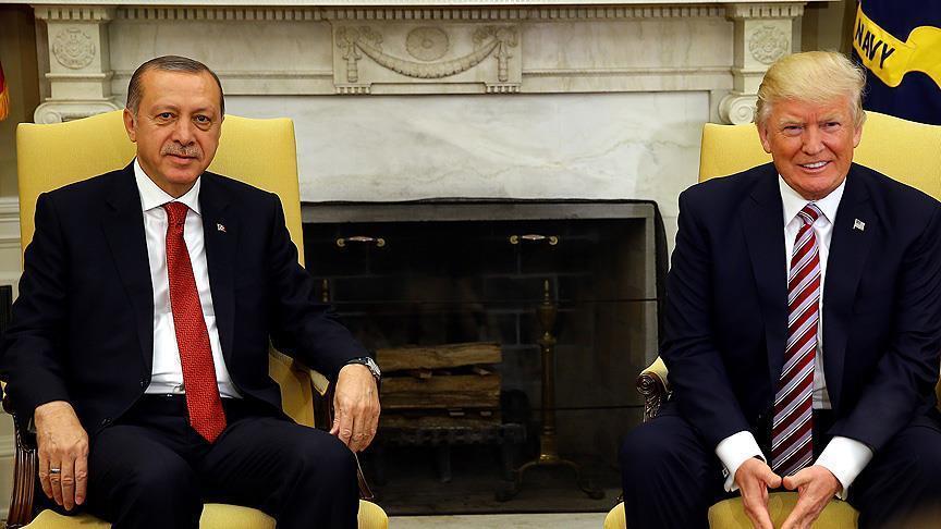 أردوغان يؤكد لترمب استعداد تركيا لحفظ الأمن في منبج