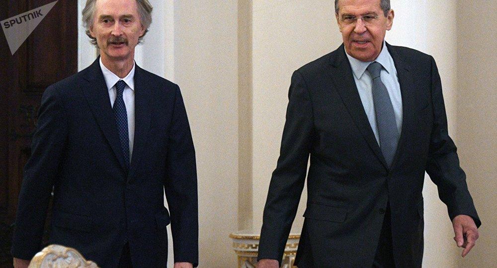 بيدرسون من موسكو: سنعمل مع روسيا سوياً لحل النزاع في سوريا