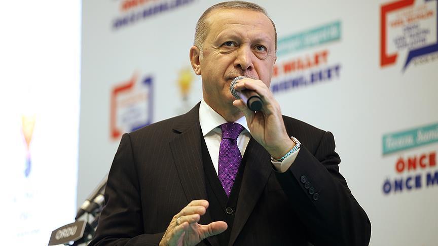 أردوغان: السيطرة الفعلية في المنطقة الآمنة ستكون بأيدينا