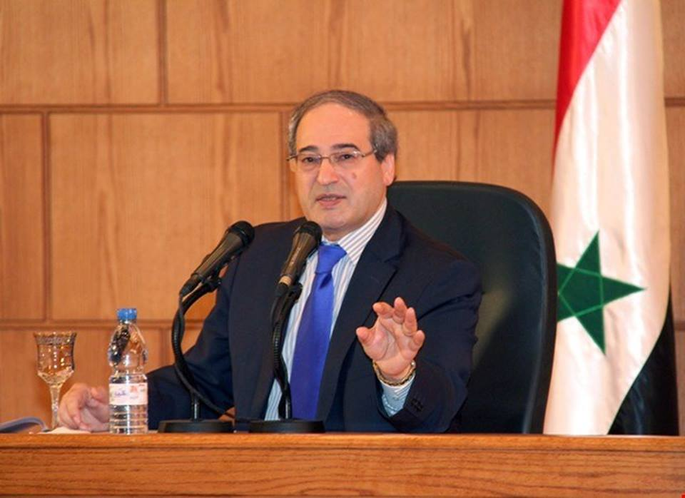 المقداد: من يحاول فرض شروط على سورية مقابل عودتها إلى الجامعة العربية لن ينجح