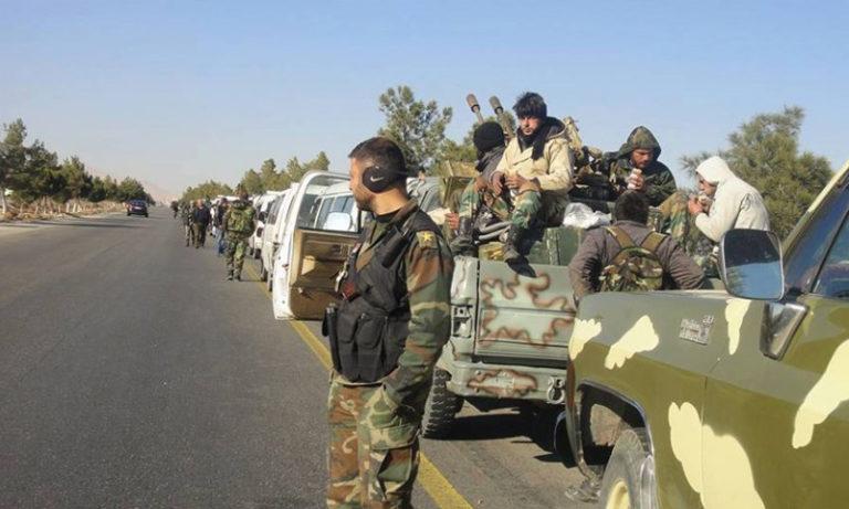حصاد أخبار الجمعة- فقدان رتل عسكري للنظام في بادية حمص، وتل أبيب تتجه للتنقيب عن النفط في الجولان المحتل -(12-4-2019)