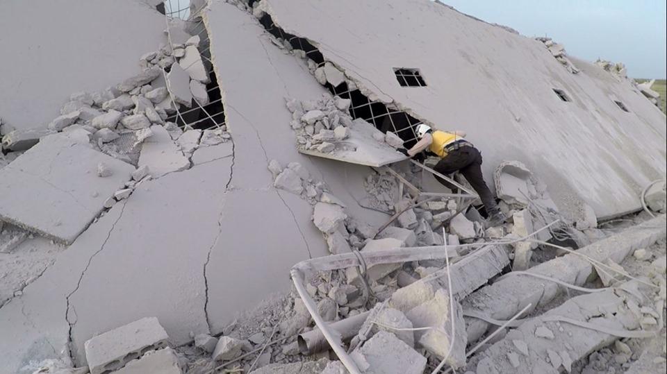 التصعيد في إدلب مستمر .. مجزرة روسية في بلدة كنصفرة