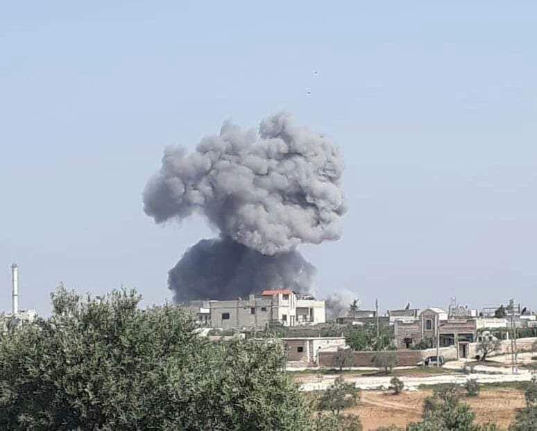 حصاد أخبار الخميس - الطيران الروسي والأسدي يحرق ريفي إدلب وحماة، و