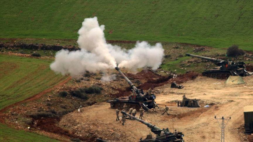 الجيش التركي يقصف مواقع الميلشيات الانفصالية في