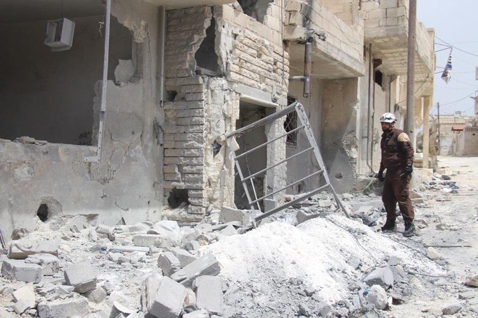 حصاد أخبار الجمعة- نظام الأسد يصعد قصفه على ريفي إدلب وحماة، وتنظيم الدولة يحرق محاصيل القمح والشعير شرقي سوريا -(24-5-2019)