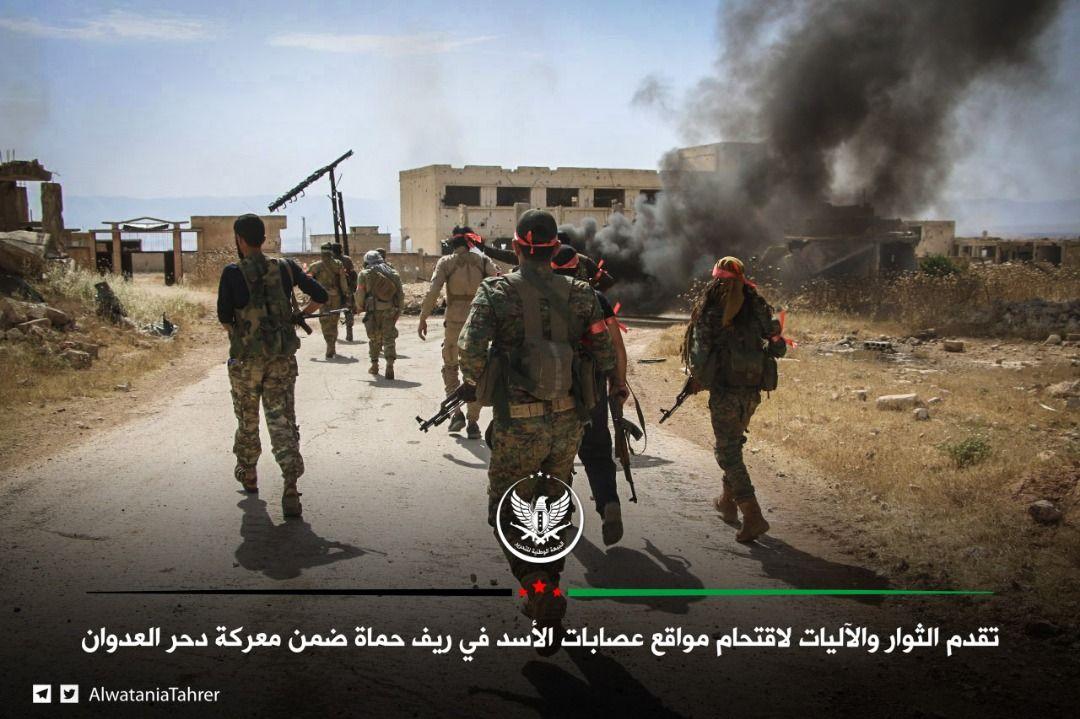 الثوار يستعيدون هيبتهم في معارك ريف حماة، وميلشيات الأسد: هزائم بالجملة وقتلى بالعشرات