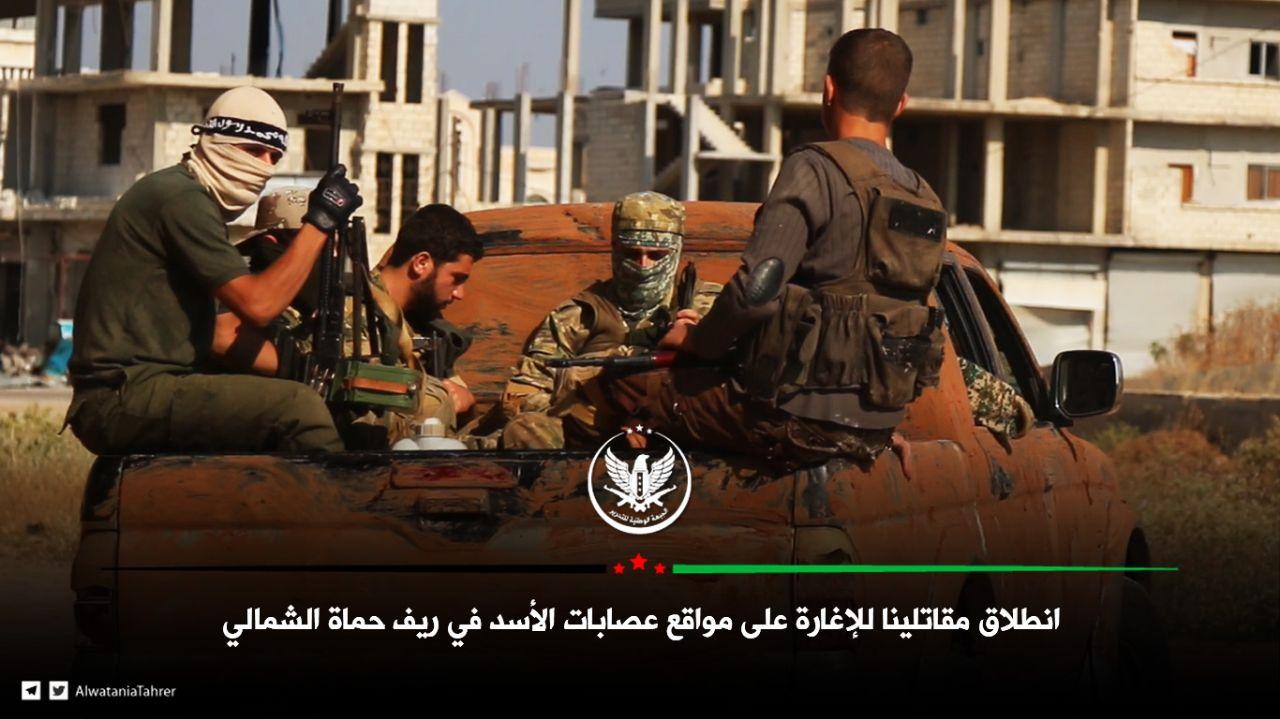 حصاد أخبار الثلاثاء- فصائل الثوار تبدأ عملاً عسكرياً في ريف حماة، وتركيا ترسل قوات كوماندوز إلى الحدود السورية -(18-6-2019)