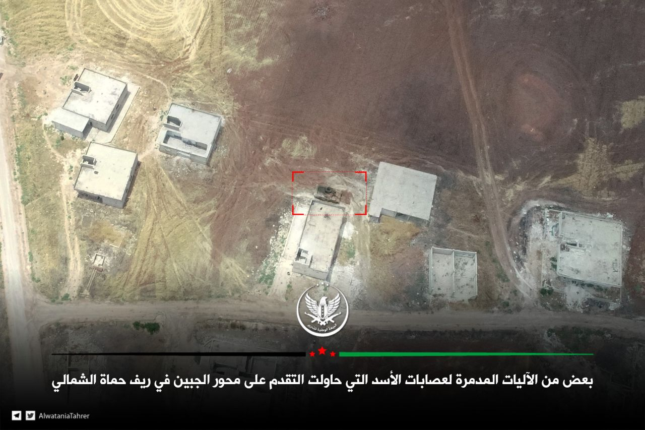 جثث مرتزقة الأسد مكدسة على جبهات ريف حماة .. أربع محاولات تقدم فاشلة يوم أمس