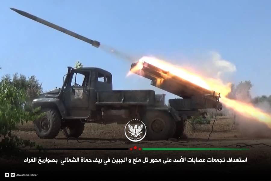 حصاد أخبار الاثنين - الثوار يستهدفون غرف عمليات عسكرية للنظام والروس، وتركيا ترسل تعزيزات جديدة إلى ريف حماة -(24-6-2019)