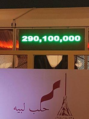اختتام حملة #حلب_لبيه القطرية بـ 290 مليون ريال نصرة لحلب
