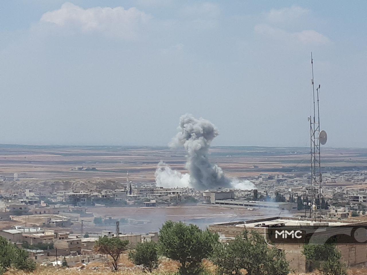 حصاد أخبار الجمعة - طائرات حربية ومروحية تحرق خان شيخون، وكازاخستان تحدد موعد الجولة القادمة من مباحثات أستانة -(19-7-2019)