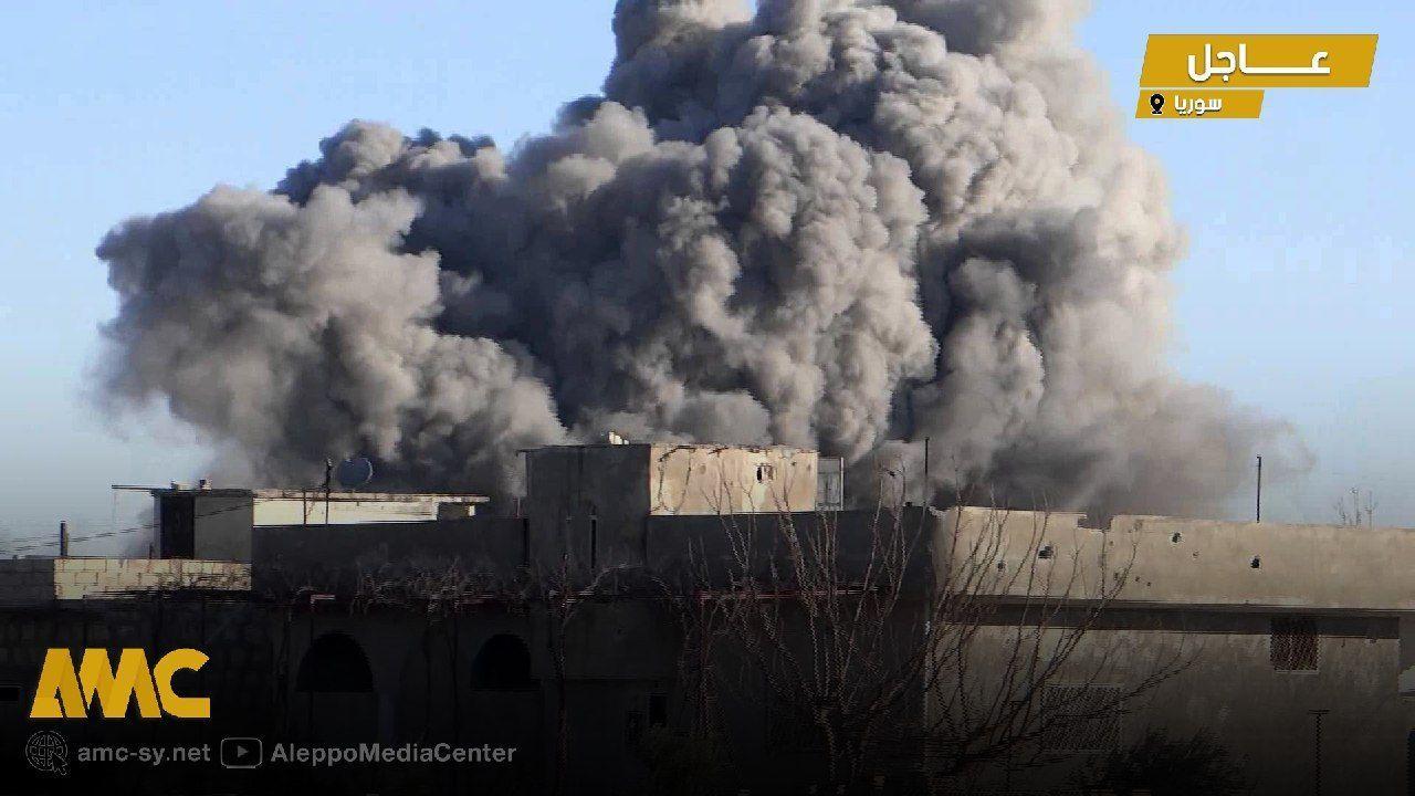 المحرقة مستمرة في الشمال السوري.. طائرات حربية ومروحية تتناوب على القصف