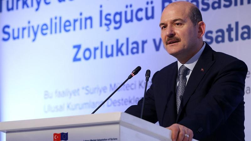 وزير الداخلية التركي يدلي بتصريحات جديدة حول السوريين المخالفين في إسطنبول