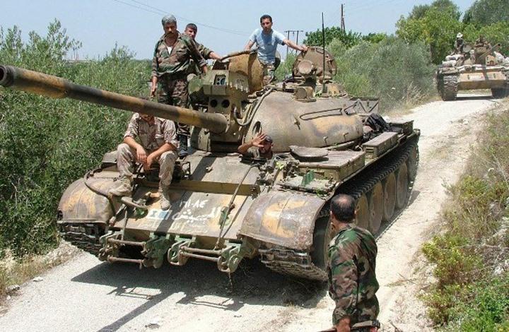 رغم حرقها بالطيران .. ميلشيات الأسد تفشل في إحراز تقدم على جبهة الكبانة
