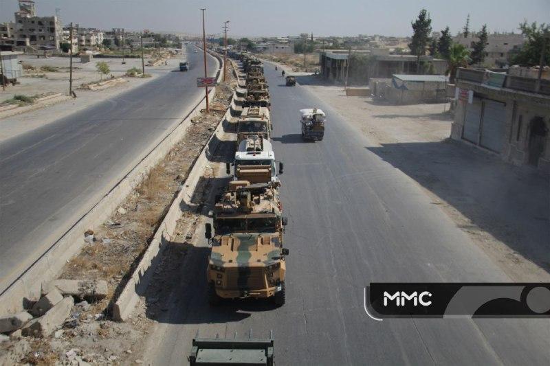 تركيا تعلّق على استهداف رتلها العسكري في إدلب