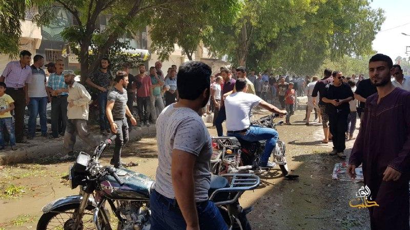 حصاد أخبار الثلاثاء- مظاهرات مطالبة بخروج تحرير الشام من إدلب، وضحايا في انفجار دراجة نارية مفخخة شمال حلب -(3-9-2019)