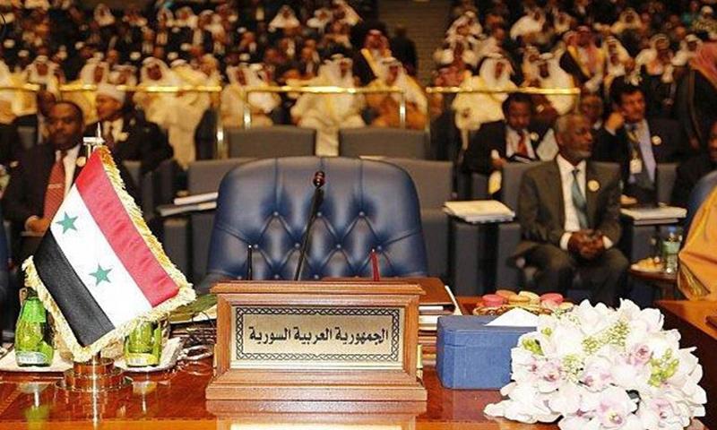 مصر: مشاورات عربية لإعادة سوريا إلى الجامعة العربية