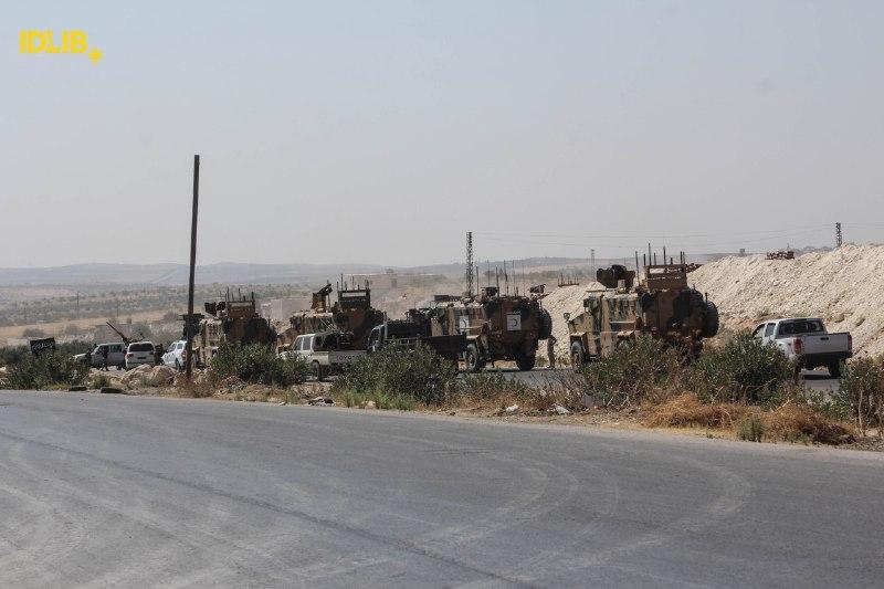 حصاد أخبار الخميس- تصعيد وقصف جوي يستهدف ريف إدلب قبيل القمة الثلاثية، وتركيا ترسل تعزيزات عسكرية إلى قواتها المتمركزة قبالة خان شيخون -(12-9-2019)
