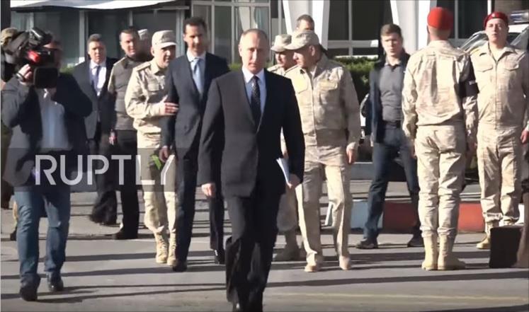 أربع سنوات روسية في سوريا