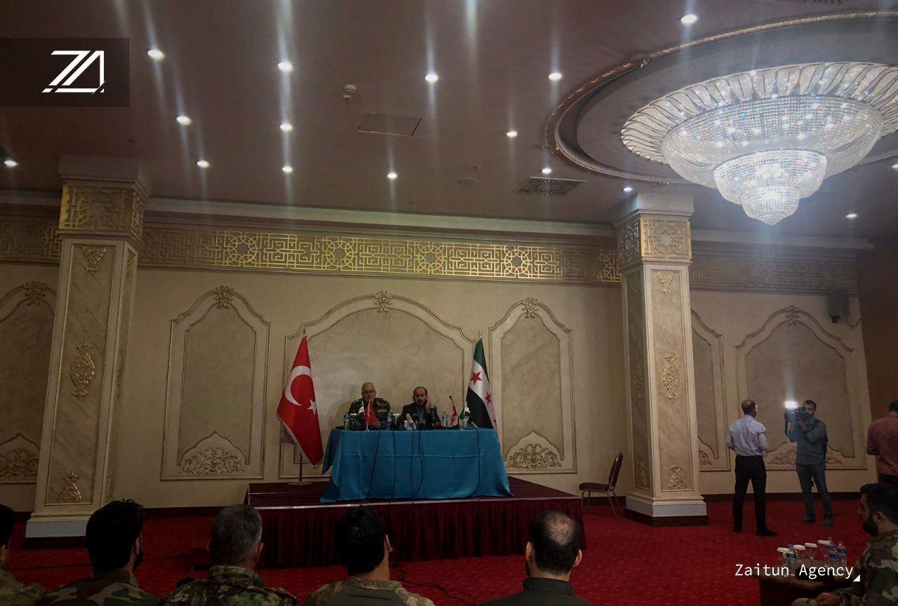كبرى الفصائل الثورية تنضوي تحت راية الجيش الوطني السوري