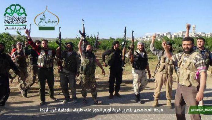 نشرة أخبار سوريا-تحرير بلدات معترم وكفرزيبا وأورم الجوز على طريق اللاذقية، وقتل أكثر من 20 عنصراً من تنظيم الدولة على جبهة الحصية وصوران بحلب- (29/28_5_2015)