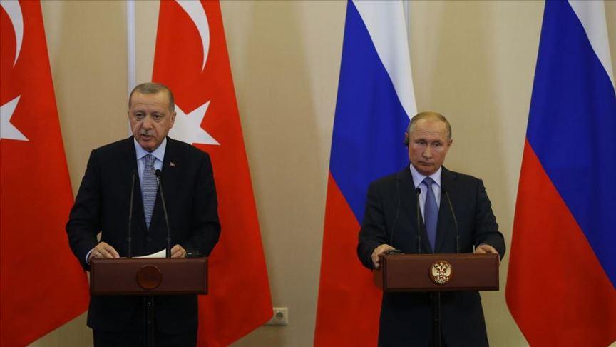 حصاد أخبار الثلاثاء- اتفاق روسي-تركي بخصوص المنطقة الآمنة شمال سوريا، وبشار الأسد يستغل اجتماع بوتين-أردوغان لتفقد قواته في الهبيط -(22-10-2019)