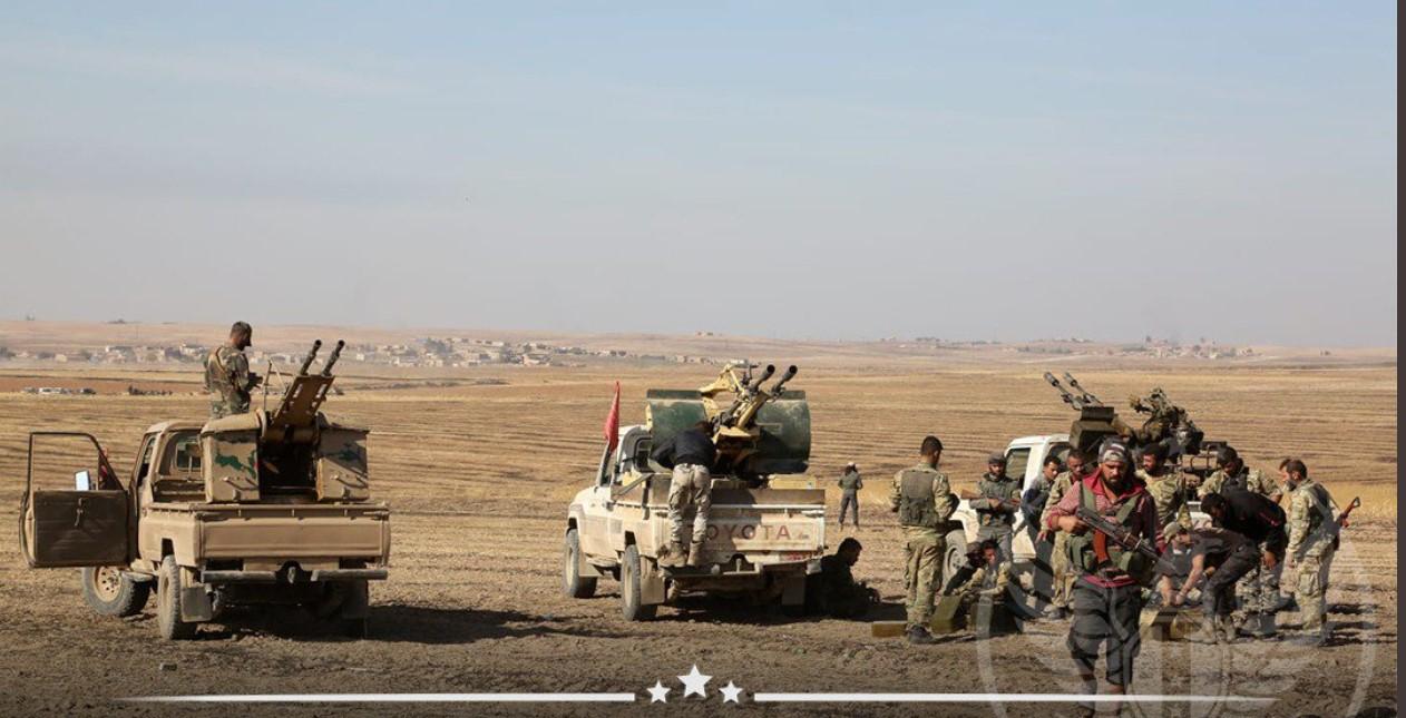 الجيش الوطني يصل إلى مشارف بلدة تل نمر