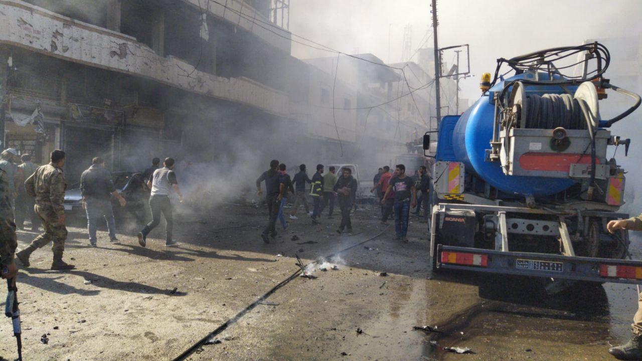 بعد تفجير