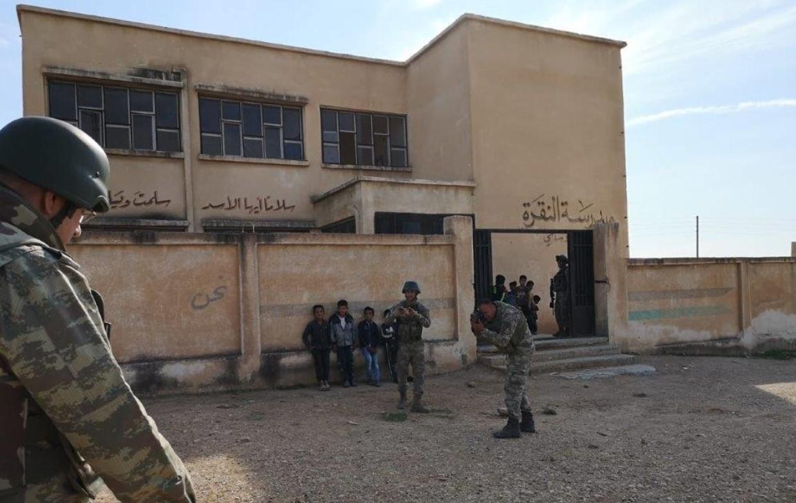ضحايا في قصف للميلشيات الانفصالية على مدرسة في تل أبيض